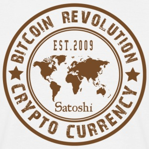 Bitcoin Revolution - Männer T-Shirt