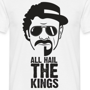 Alle Hail KINGS - T-skjorte for menn