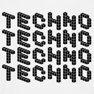 TECHNO SHIRT - Herre-T-shirt