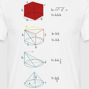 Mathman - Herre-T-shirt
