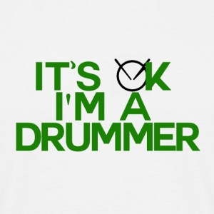 IM A TAMBOUR - Drummer Passion - T-shirt Homme