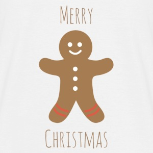 gingerbread man - Men's T-Shirt