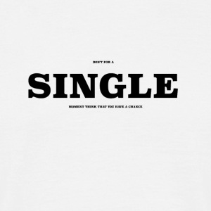 SINGLE2 - Herre-T-shirt