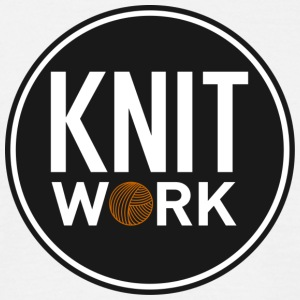 Knitwork - Herre-T-shirt