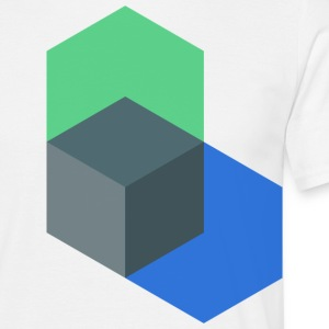 Poly-Cube - Men's T-Shirt