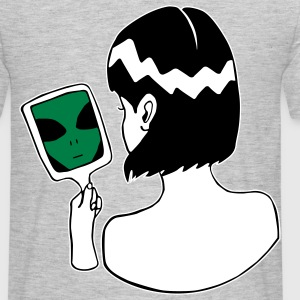 Alien in the Mirror - Ich bin ein Alien - Männer T-Shirt