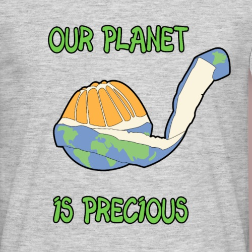 Our planet is precious - T-shirt Homme