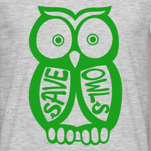 Save owls - T-shirt Homme