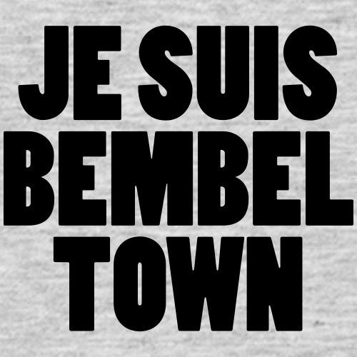 JE SUIS Bembeltown - Männer T-Shirt