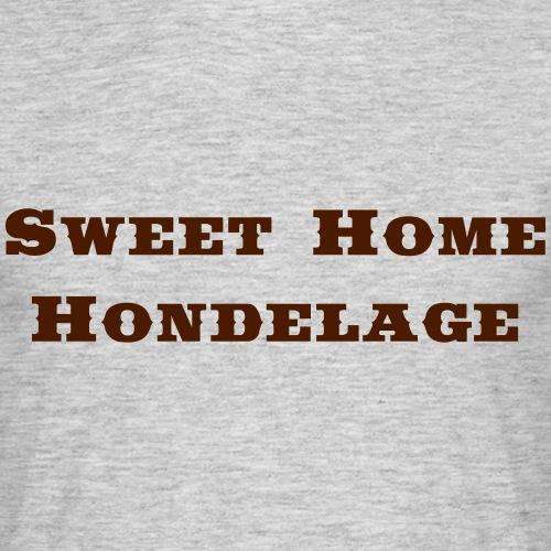 Hondelage Saddlebag - Männer T-Shirt