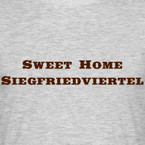 Siegfreidviertel Saddlebag - Männer T-Shirt
