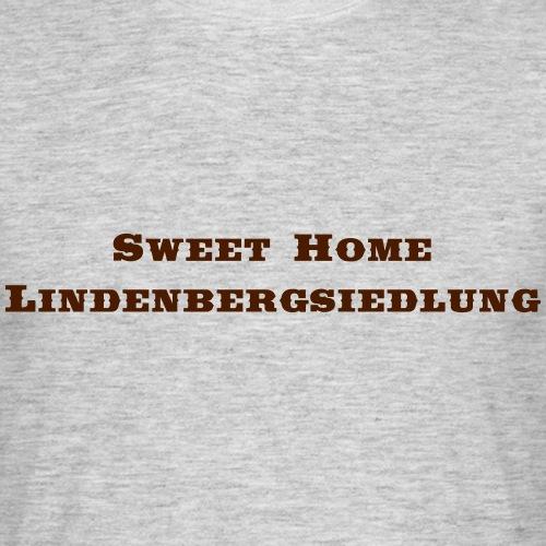 Lindenbergsiedlung Saddlebag - Männer T-Shirt