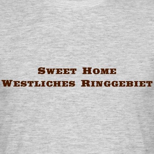 WestlichesRinggebiet Saddlebag - Männer T-Shirt