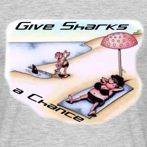 GiveSharksChance png - Männer T-Shirt