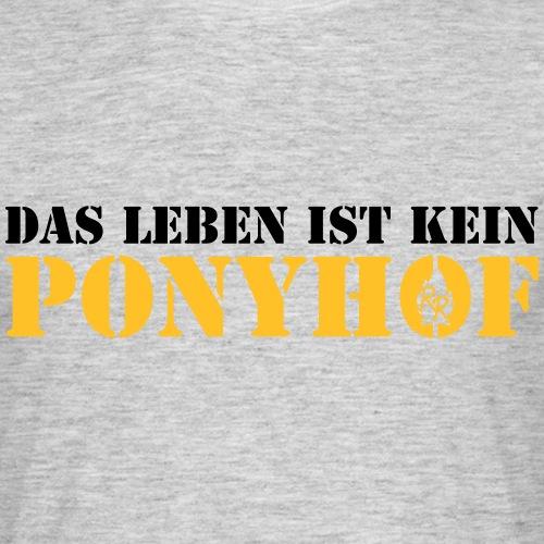 Ponyhof - Männer T-Shirt