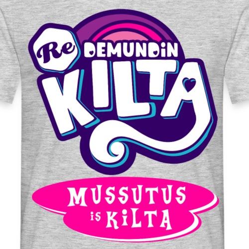 Mussutus is Kilta - Miesten t-paita