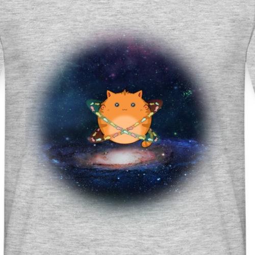 Galaxy cat - Men's T-Shirt