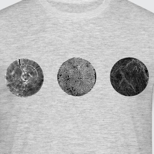 Tracks negative - Maglietta da uomo