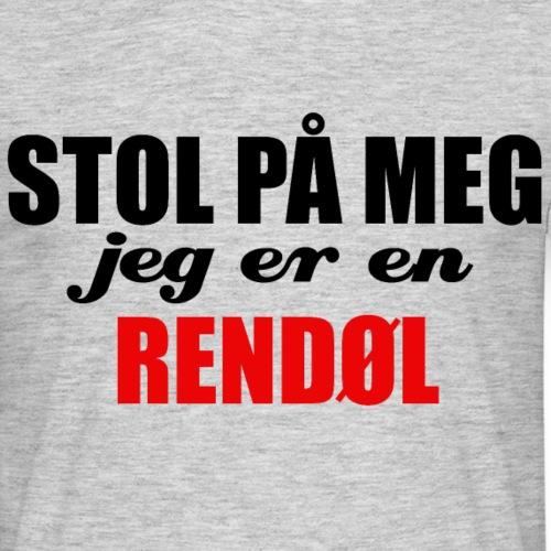 STOL PÅ EN RENDØL - T-skjorte for menn