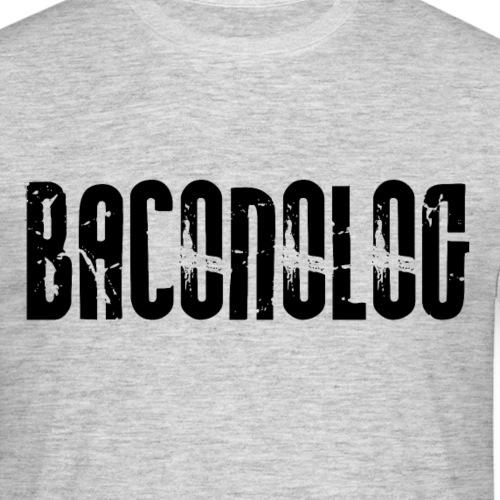 baconolog - T-skjorte for menn