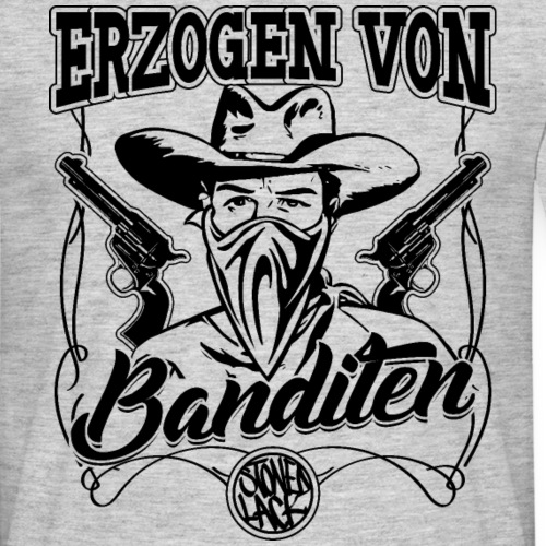 Erzogen von Banditen - Männer T-Shirt