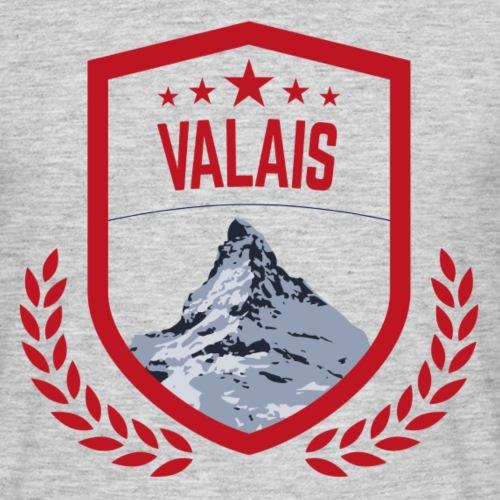 Walliser Logo mit dem Matterhorn