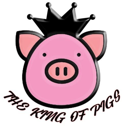 il re dei maiali - Maglietta da uomo