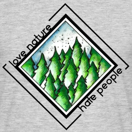 Love Nature - Männer T-Shirt