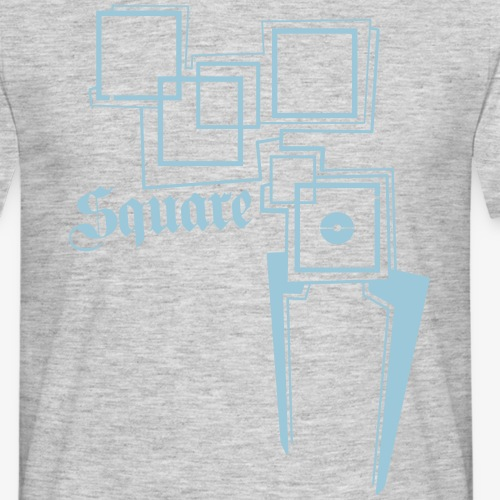 SQUARE - T-shirt herr