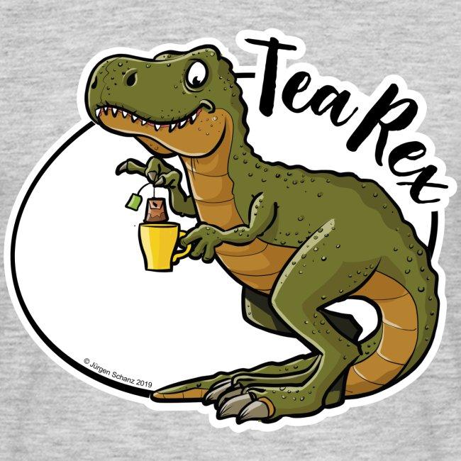 Tea-Rex: wenn sich Dinosaurier entspannen