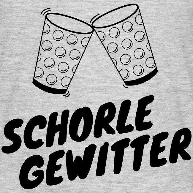 Schorlegewitter - Dubbeglas - Weinschorle - Pfalz