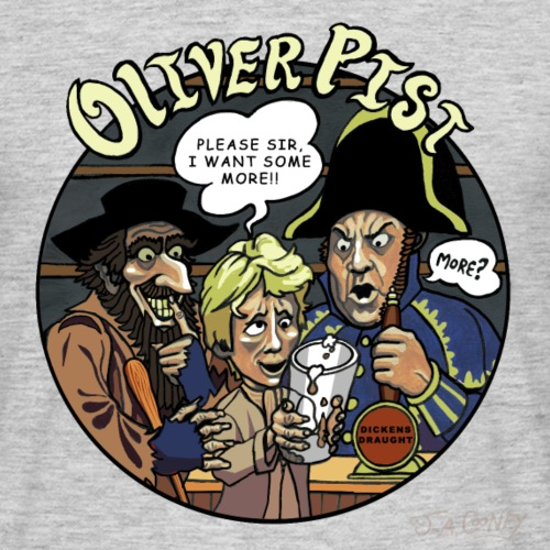 Oliver Pist - Men's T-Shirt