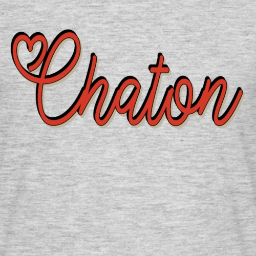 Chaton - T-shirt Homme