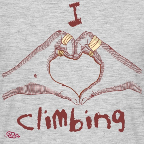 I LOVE CLIMBING - Camiseta hombre