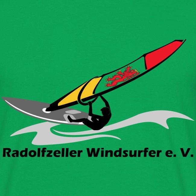 Surfclub Logo mit Schrift