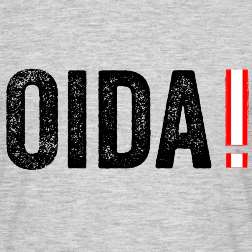 Oida! - Männer T-Shirt