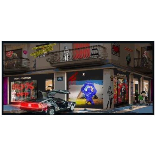 HALL OF FAME STREET ART - Camiseta hombre