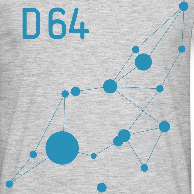 D64 Netzwerk einfarbig