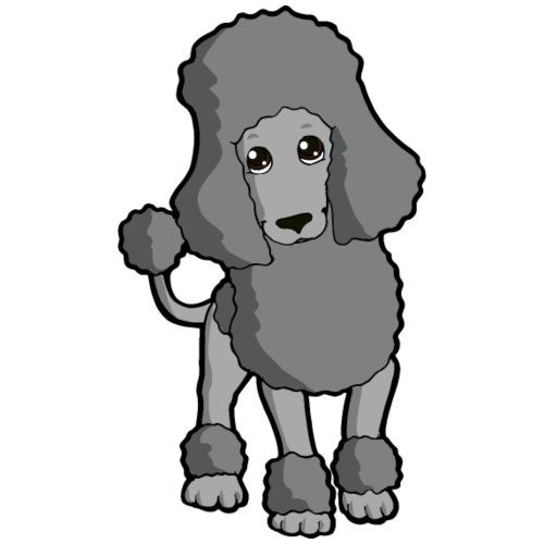 Barbone grigio - Maglietta da uomo