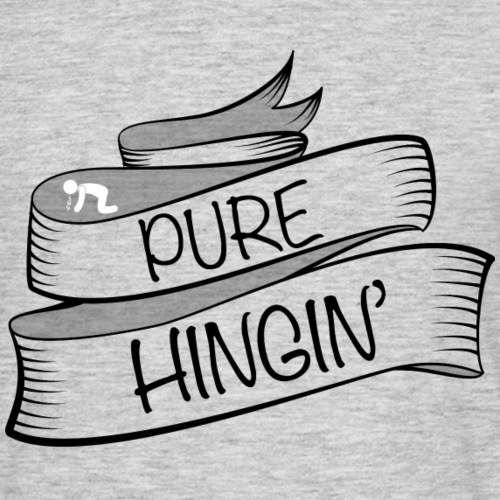 purehingin black - Men's T-Shirt