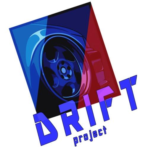 drift project car car vintage retro old old - Maglietta da uomo