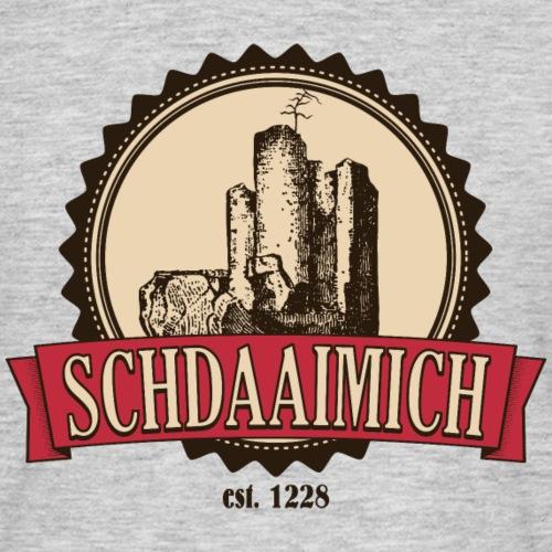 Schdaaimich - Männer T-Shirt