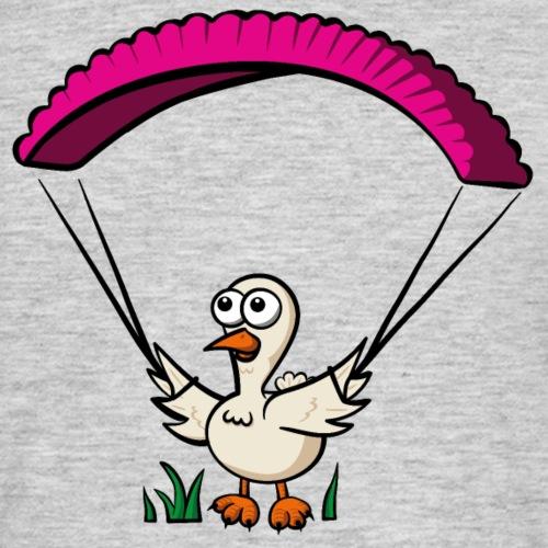 Groundhendl Groundhandling Hendl Paragliding Huhn - Männer T-Shirt