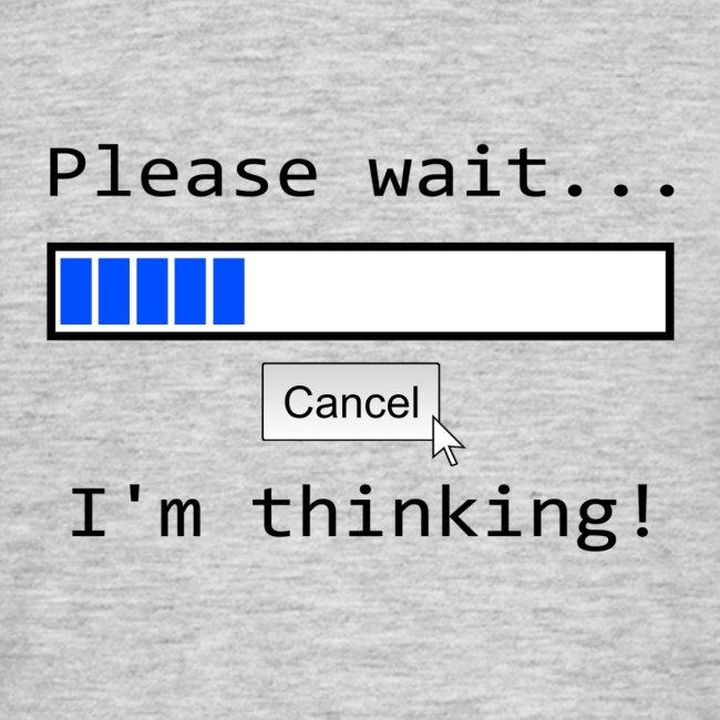 Bitte warten