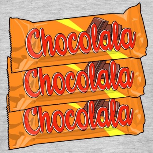 Chocolala barre chocolatée - T-shirt Homme