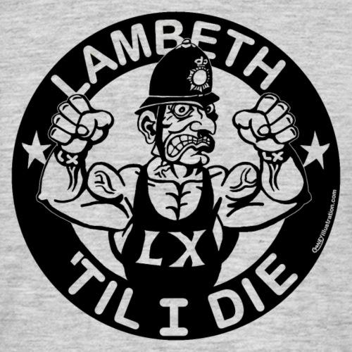 LAMBETH - BLACK - Men's T-Shirt
