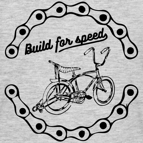 build for speed - T-shirt Homme