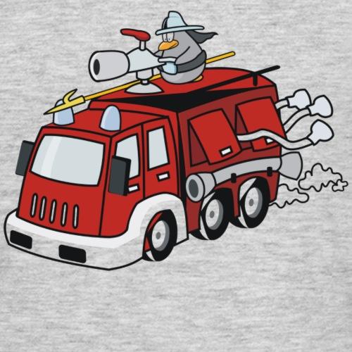 Feuerwehr T Shirt für Kinder - Männer T-Shirt