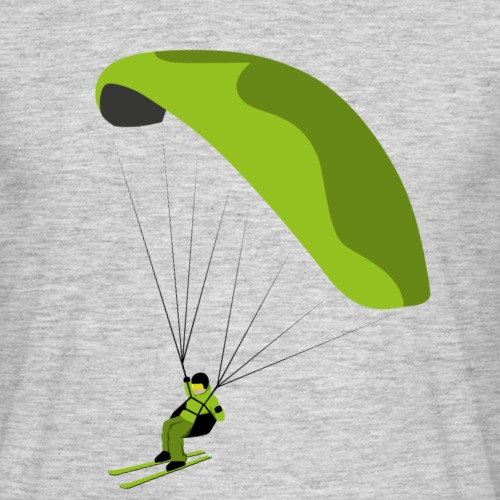 Speedflying Speedriding Paragliding Gleitschirm - Männer T-Shirt
