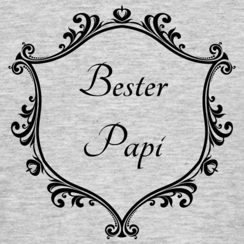 Bester Papi - Männer T-Shirt